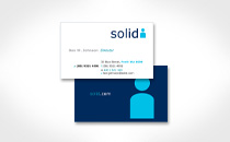 Business card - Solid